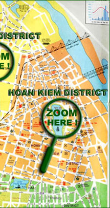 Vietnam Map - Hanoi Map - Vietnam Open Tour - Sinhcafe Travel